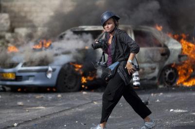 Den amerikanske fotojournalist Heidi Levine