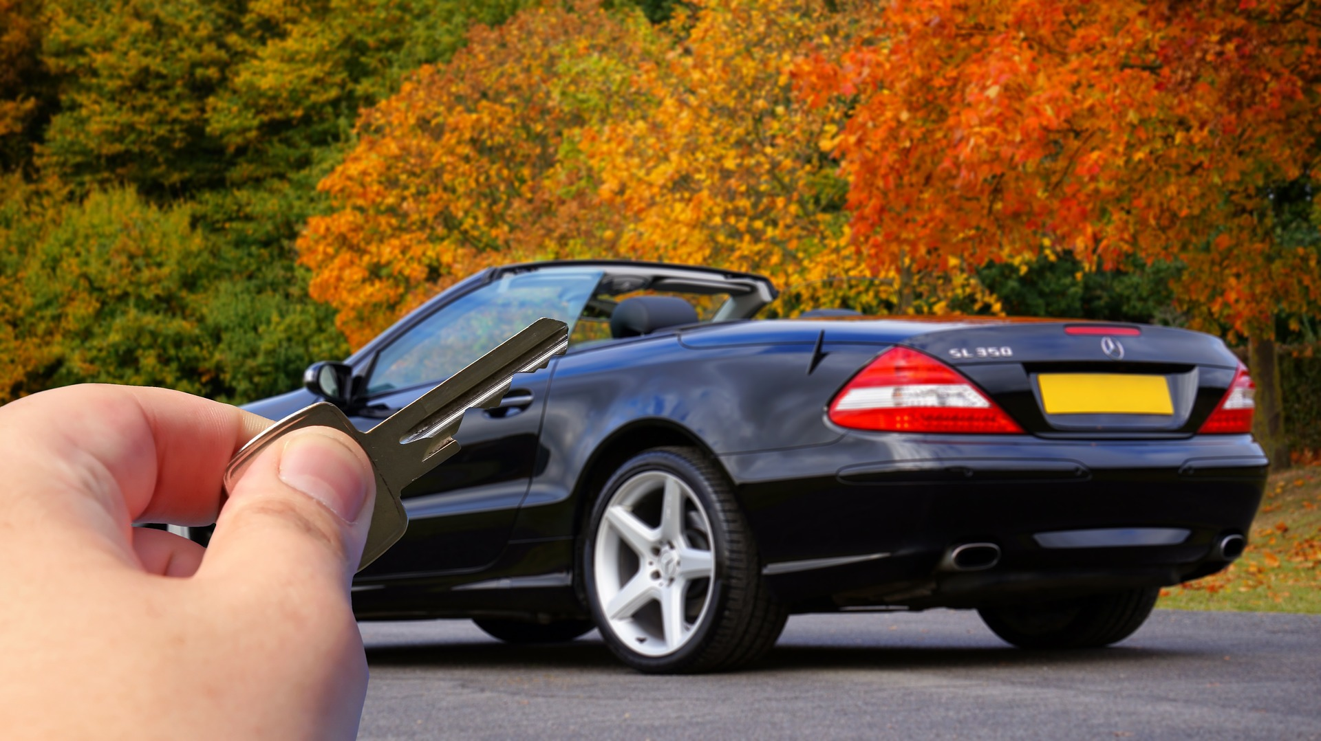 Bilsalg Nøgler Mercedes