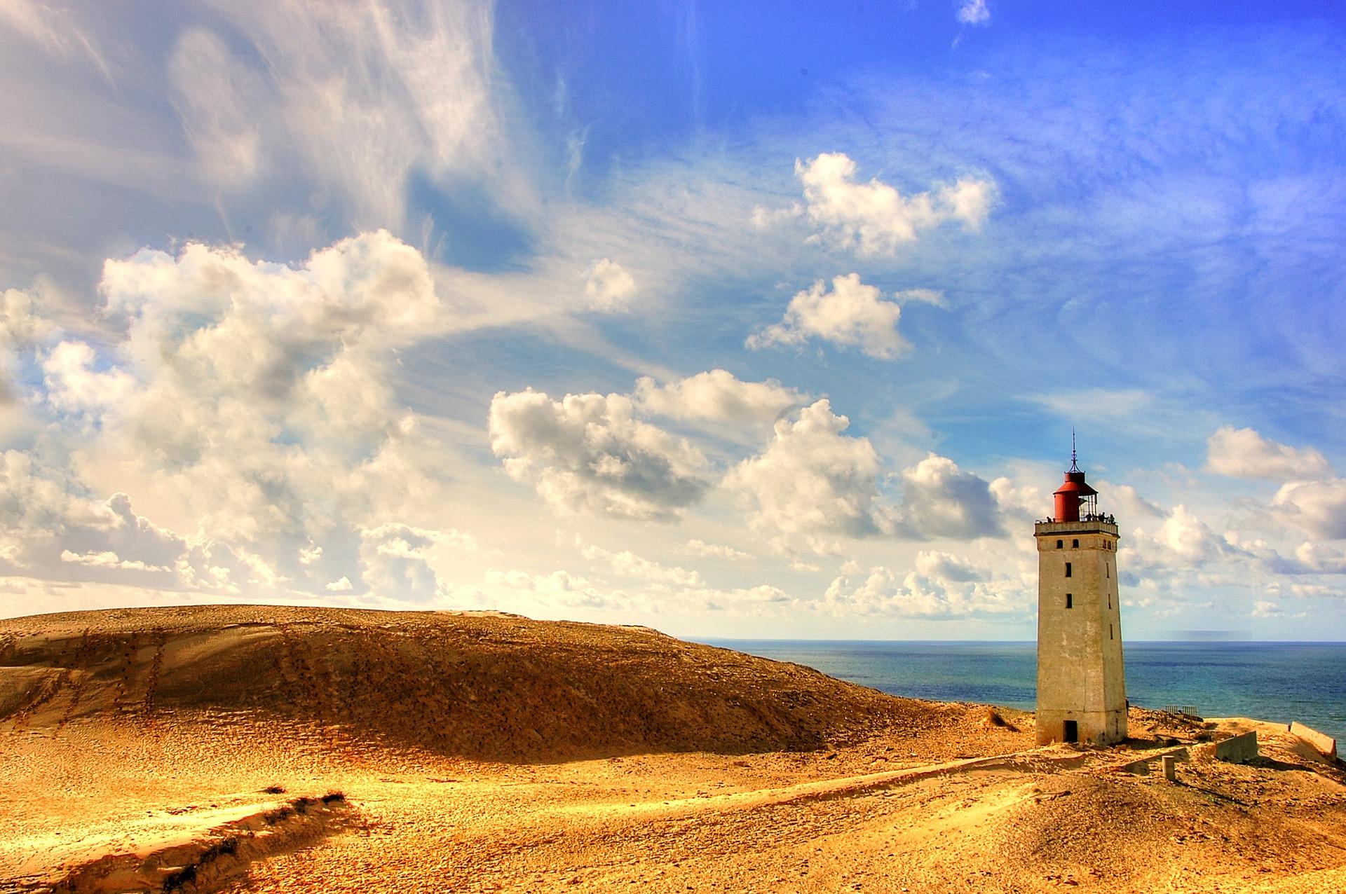 Danmark Fyrtårn Vagttårn