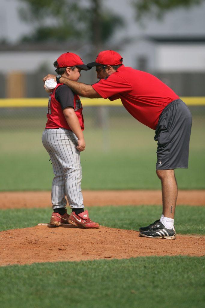 coach baseball børn sport