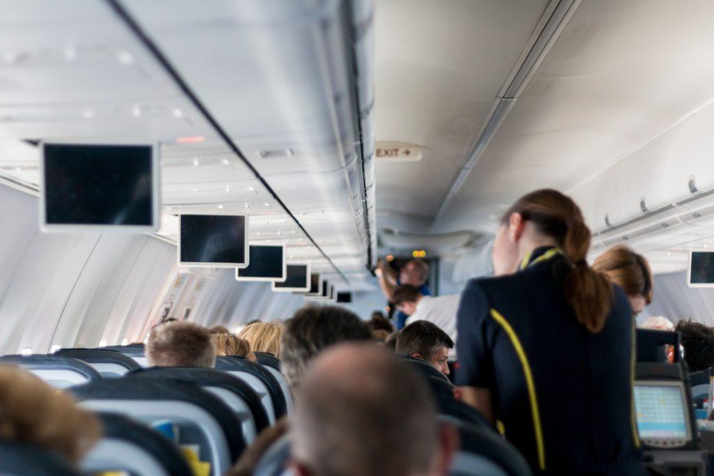 fly stewardesse rejse