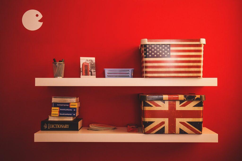 sprog engelsk amerikansk UK USA