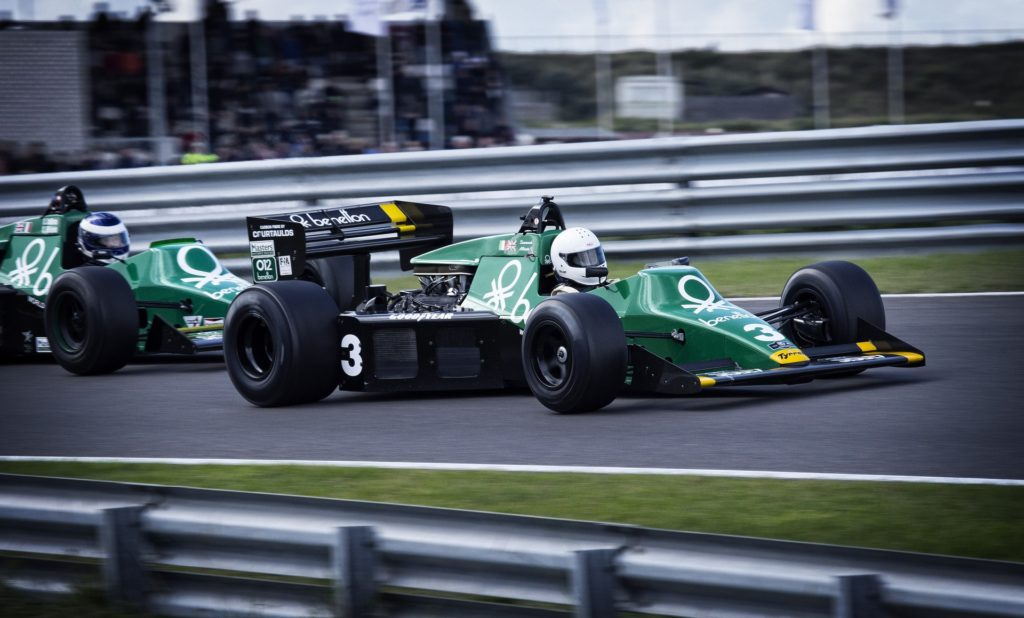 racerkører racerbil race formel1